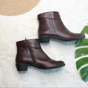 Ecco Brown Ankle Boot